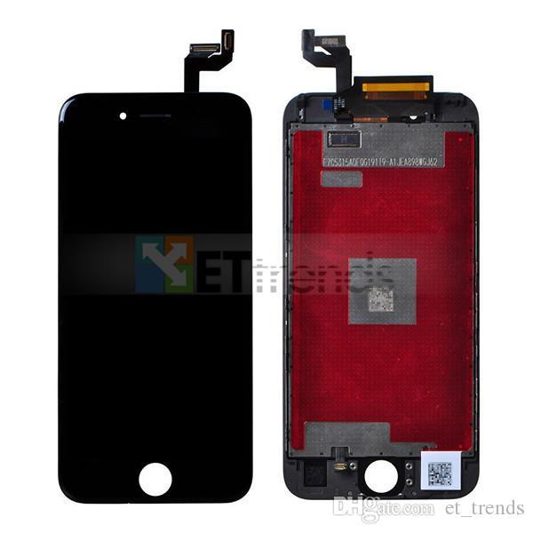 Display lcd para o iphone 6 s assembléia tela lcd com função 3dtouch não dead pixel dhl frete grátis