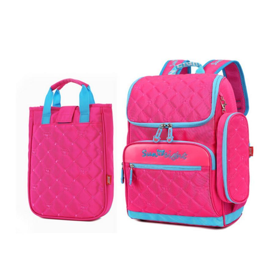 Girl School Bag Set Lunch Box Case Korean Style Elementary School ...