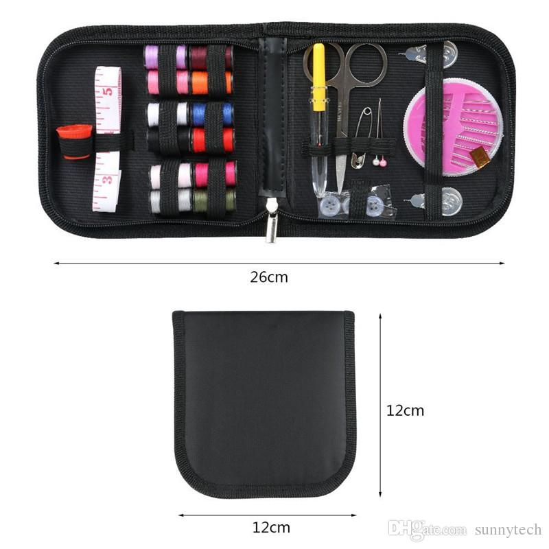 12 Threads Portable Travel Sewing Kits for Quilting Stitching Hand Sewing Tools