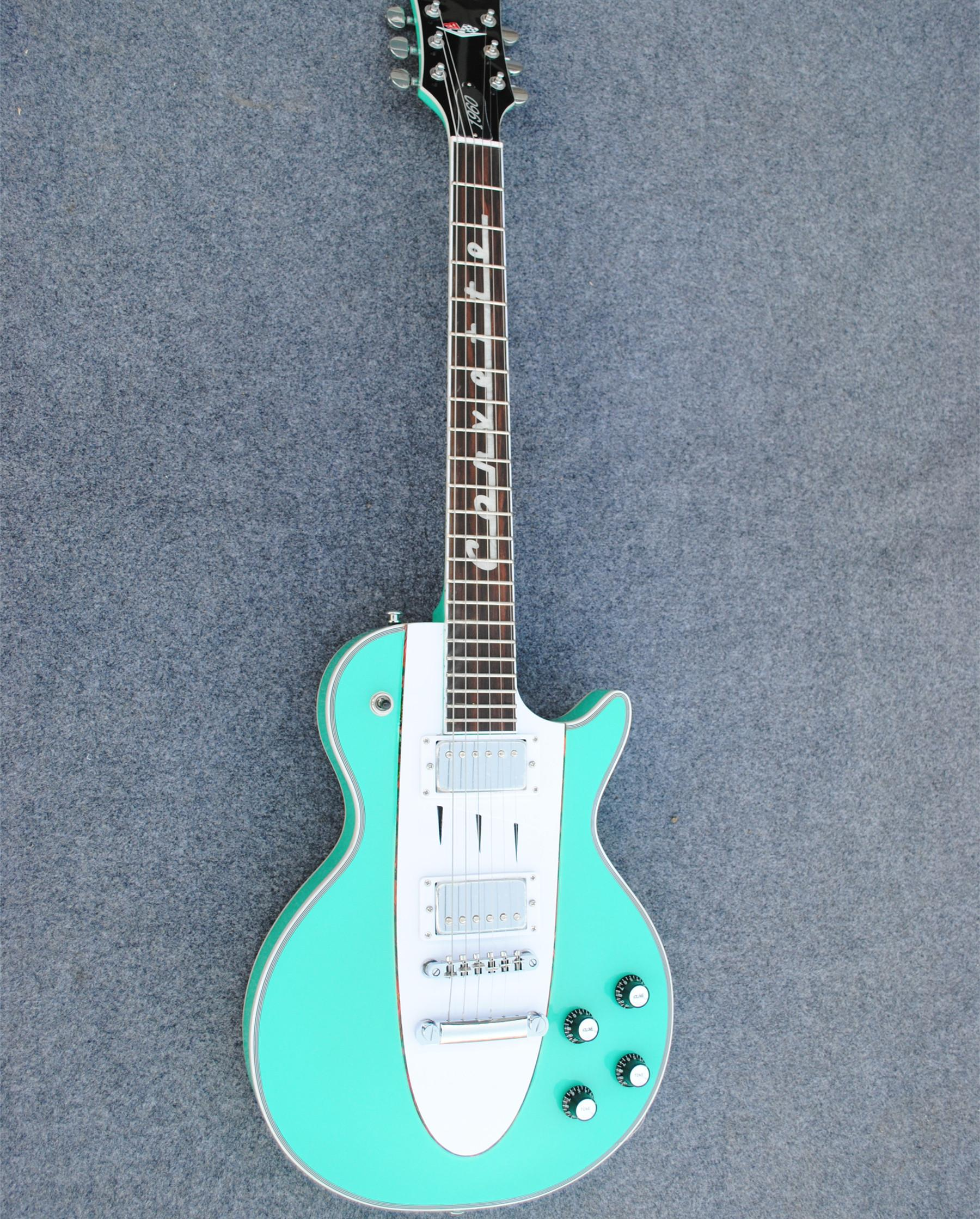 Personal Tailor Light Blue Electric Guitar Rosewood Fingerboard