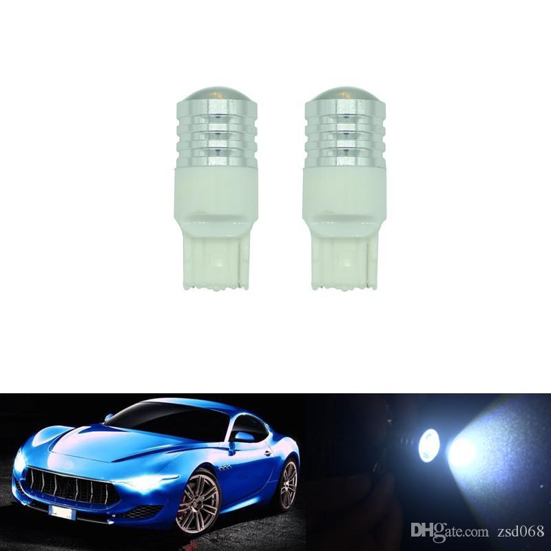 / T20 7443 7440 W21W LED العارض الأبيض النسخ الاحتياطي لمبة ضوء السيارة الخلفي مصباح DIY حالة