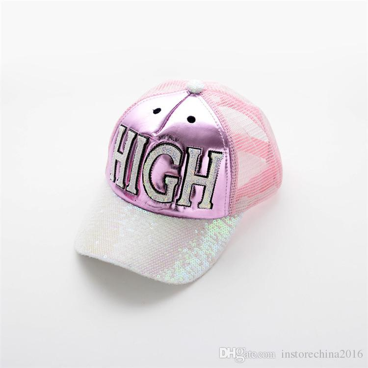 Girl And Boy Baseball Hats Fashion And Leisure Children's Ball Cap High Quality And Low Price Kids Sun Hat Fashion Children Mesh Hat