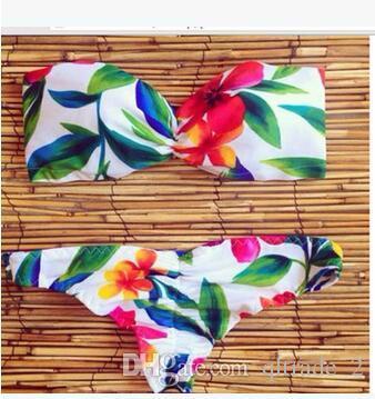 2016 hot flowers Brasile unghie pantaloni sexy bikini Swimwear Signora europea e americana moda bikini costume da bagno