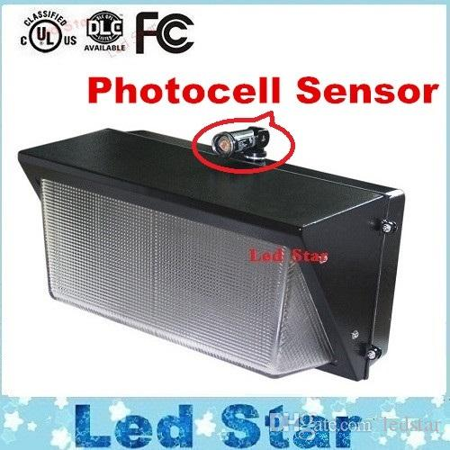 2017 Photocell Sensor Led Wall Pack Light 60w 80w 100w 120w