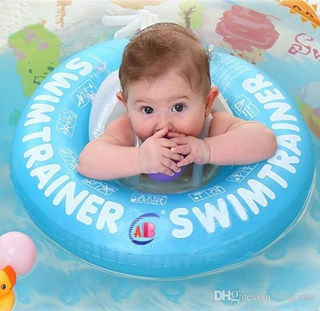 2018 Baby Swim Ring Baby Swimming Circle Belly Pad Pool Float Ring ...