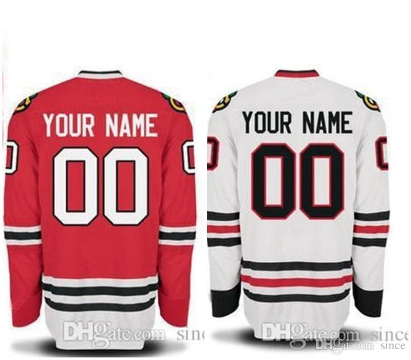 competitive price 3ca99 bac07 2016 New, 2015 Chicago Blackhawks Jersey Customized Red/Black/White  Jerseys,ANY NAME & ANY NUMBER,Numbers And Name Are Sewn On
