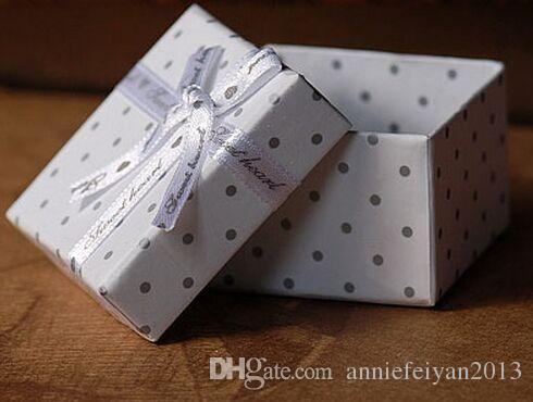 Venta al por mayor 5 * 5 * 3.5 cm / Joyas / Bolsas Jewellry Bolsas Dulces Regalos de Chocolate Embalaje / Paquete / Empaquetado de la organización