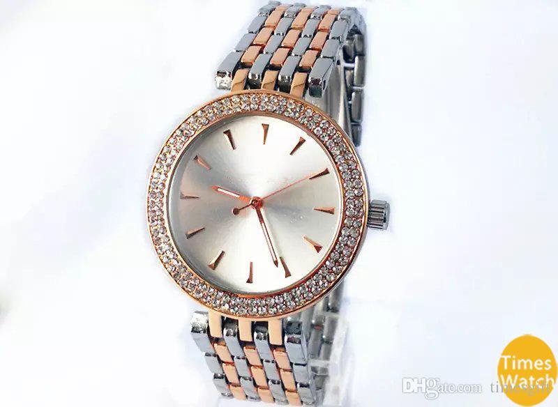 20٪ ٪ 2019 حار الأعلى بيع النساء الرجال الذهب الماس المعصم relojes المقاوم للصدأ rolse الذهب الأزياء ووتش شحن مجاني