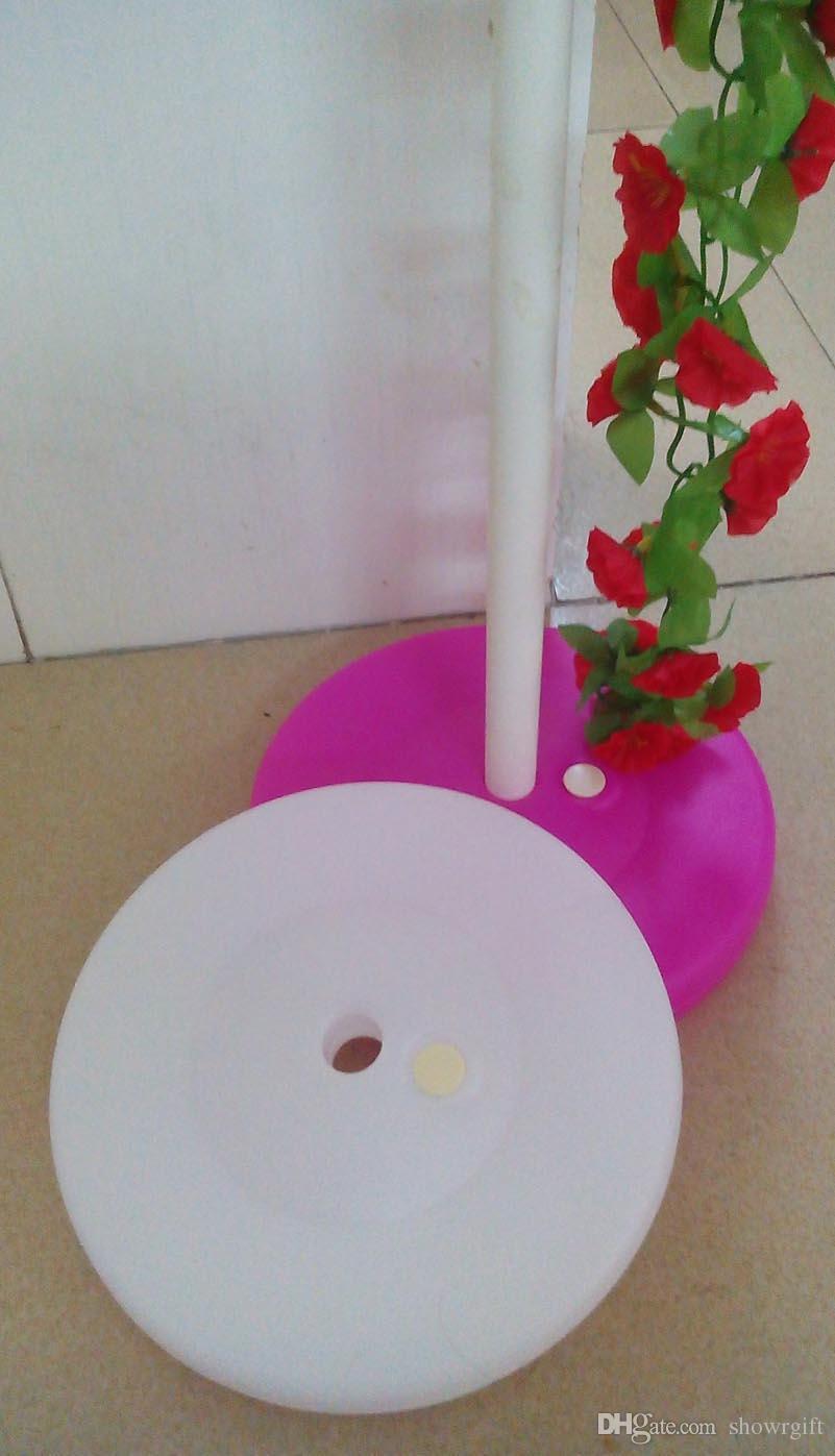 Ballon Bogen Spalte Basis Geburtstagsfeier Lieferungen Hochzeitsdekorationen Hausgarten Aktivität Werbe Ballon Dekor Basis 10 teile / los