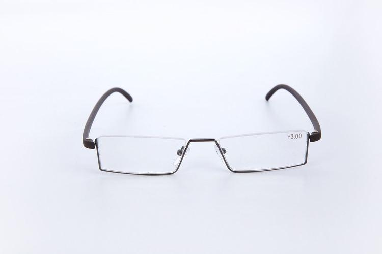Hot sale tube read glasses for women man with case high quality stainless steel lightweight fold magnification TR90 strength 1.00 to 4.00