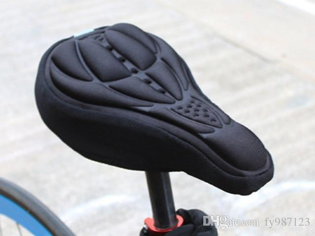 Wholesale Bicycle Saddle Seat Cover Comfortable 3D Silicone bike Gel Cycling Seat Cover pad
