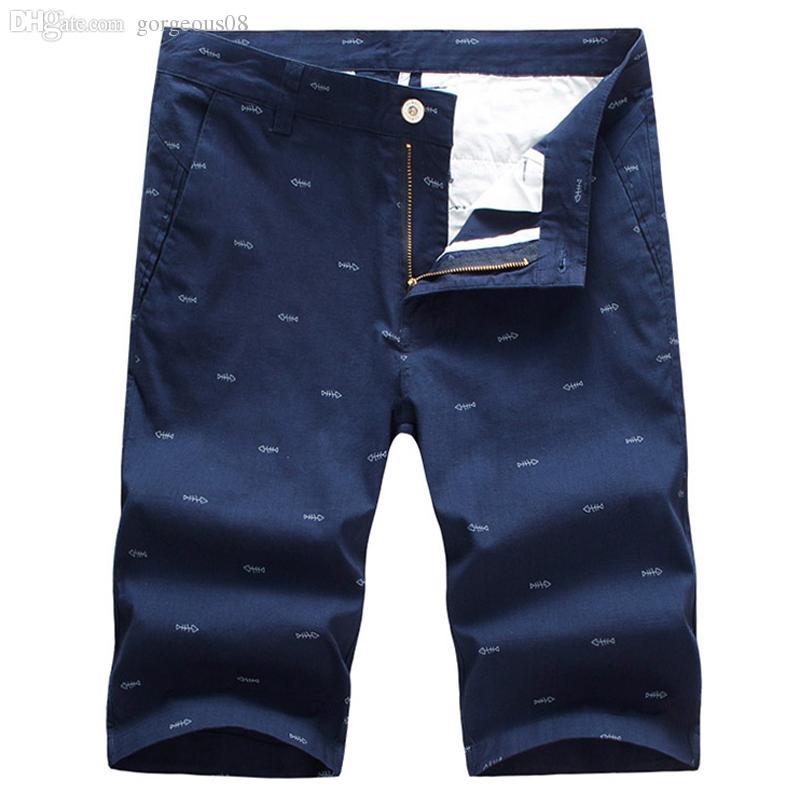 Men's Clothing Responsible Men Summer Casual Men Brand New Board Shorts 2019 Waterproof Solid Pockets Breathable Elastic Waist Fashion Casual Short Men
