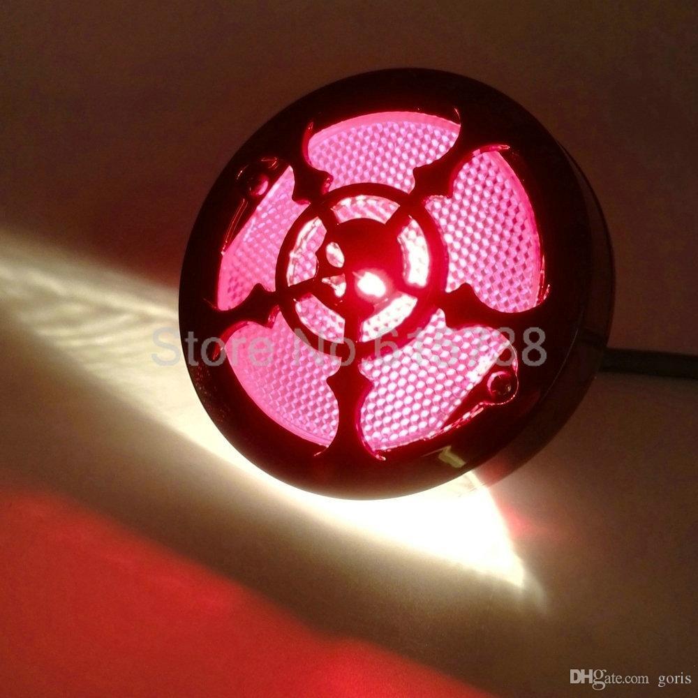 Neue Schwarz Universal Motorrad Heckstopp Bremslicht Kennzeichenbeleuchtung Lampe Für Harley Bobber Chopper Cafe Racer