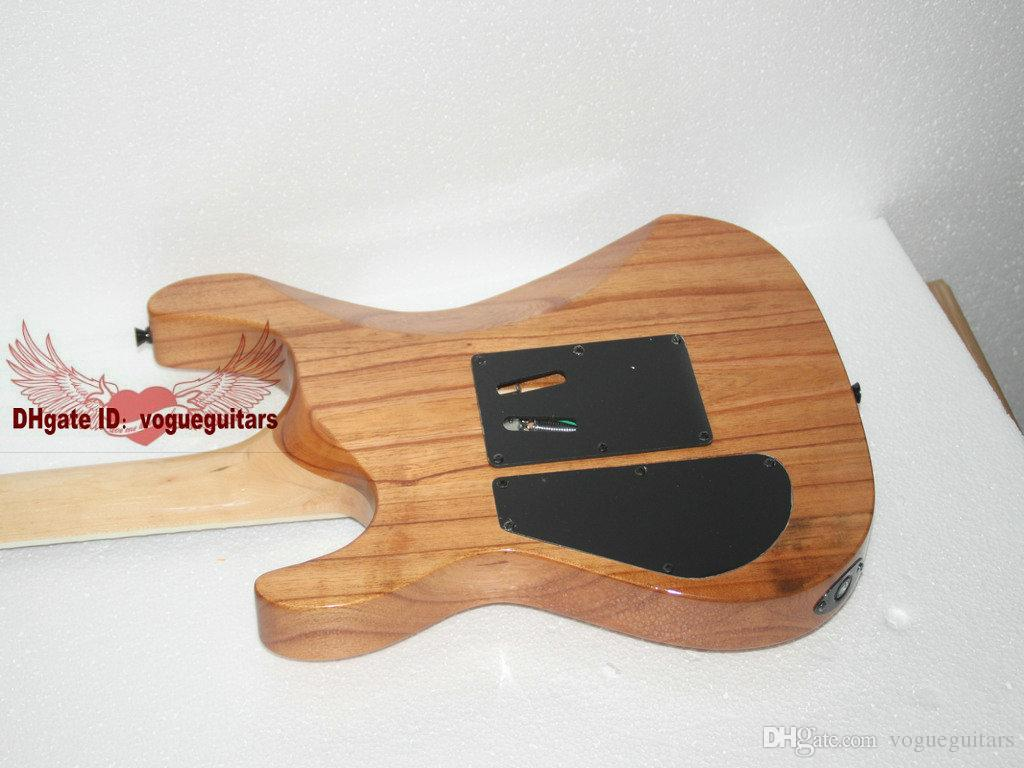 OEM jkguitar custom shop гитара цвет дерева One piece шеи новое прибытие электрогитара из Китая