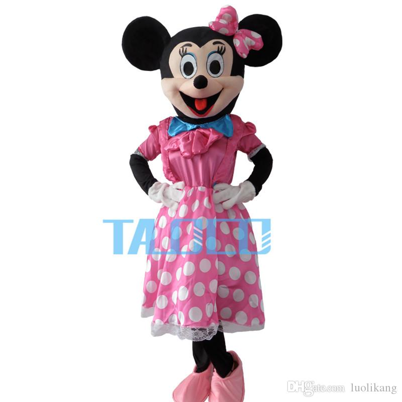 2016 High Quality Pink Minnie Mouse Mascot Costume Pink Minnie Mouse Mascot Bird Costumes Tom Arma Costumes From Luolikang $57.29| Dhgate.Com  sc 1 st  DHgate.com & 2016 High Quality Pink Minnie Mouse Mascot Costume Pink Minnie Mouse ...