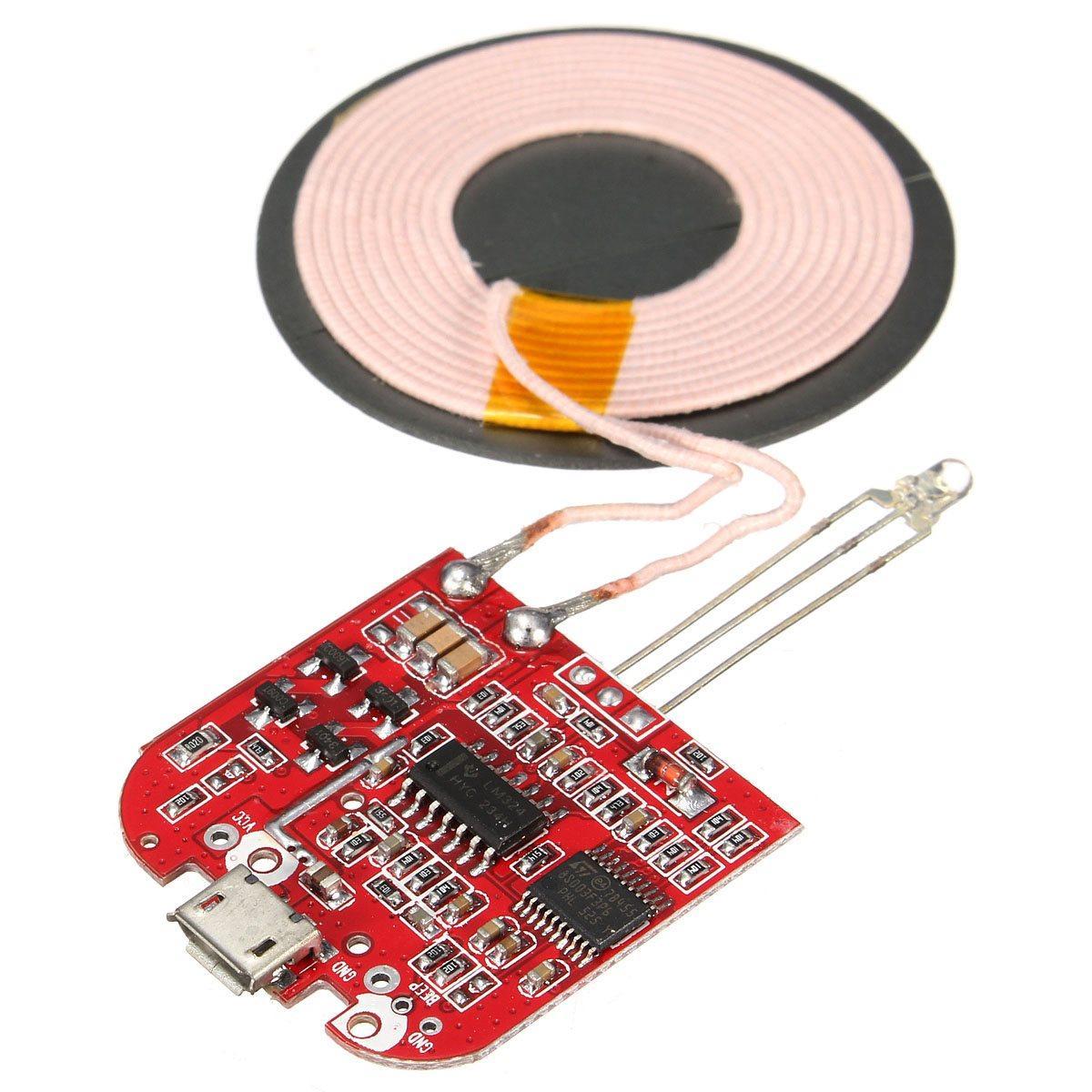 Circuito Mayor : Compre placa de circuito hilos al por mayor del cargador qi pcba