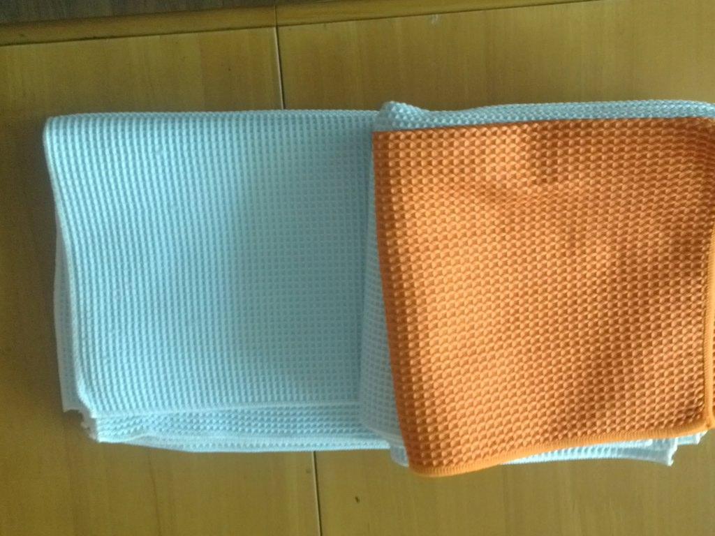 Microfibra panno di pulizia di vetro 40x40cm 400gsm Detailing Asciugamani Car spugnette la pulizia dei vetri del parabrezza pulire panno tovagliolo magico