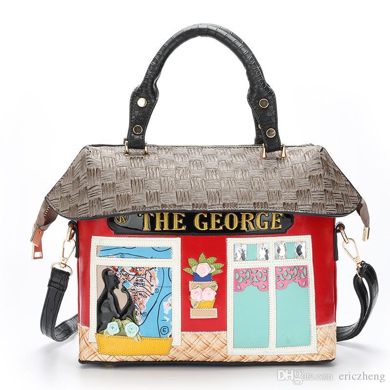 Cute Women Shoulder Handbag Lady Bags Hand Bag For Ladies - Cartoon handbags