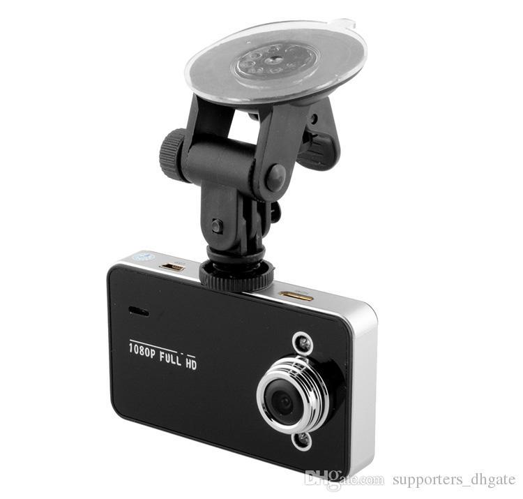 Автомобильный видеорегистратор K6000 LCD 2.2inch1080p Full HD LED ночной рекордер приборной панели видение Veicular камеры dashcam Carcam видеорегистратор автомобильные видеорегистраторы