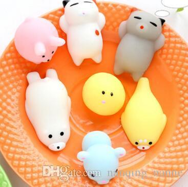 Squishy Slow Rising Jumbo Toy Bun Jouets Animaux Mignon Kawaii Squeeze Toy Mini Squishies Chat Squishi Mode Rare Animal Gifts Cadeaux De Noël