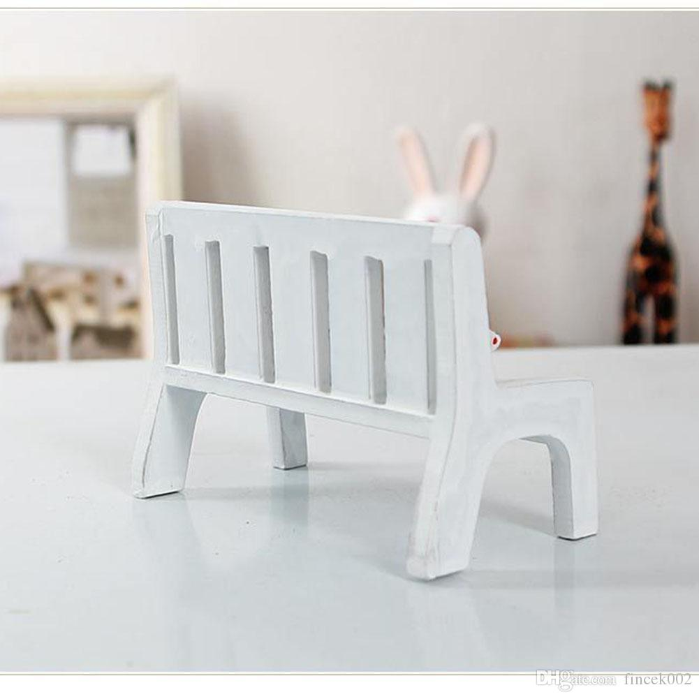 Grosshandel New Fasion Cute Dollhouse Miniaturen Holz Garten Im