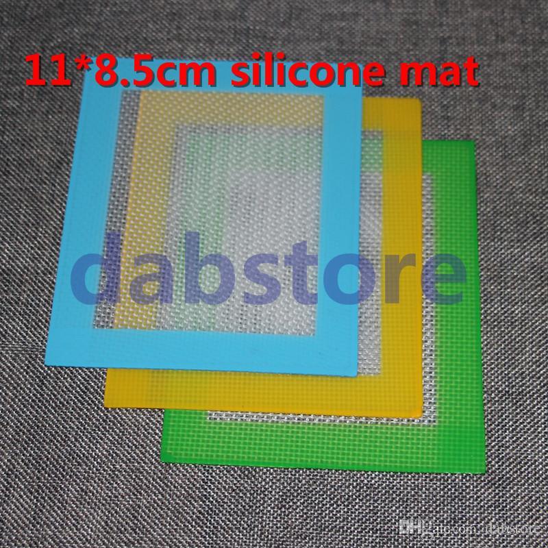 2016 Variedade de Dabbing e Esteiras de Cozimento para o seu Concentrado Cera food grade antiaderente pad dab mat tapetes de silicone
