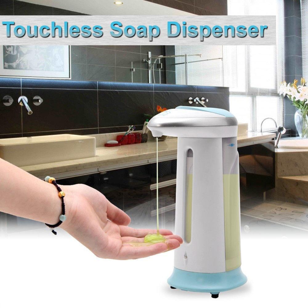 best sensor soap dispenser liquid soap dispenser automatic automatic soap magic hands free soap dispenser hand soap 400ml under dhgatecom - Touchless Soap Dispenser