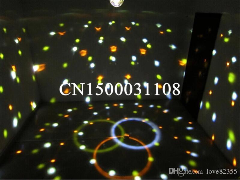 Hohe Qualität 9 Farbe LED Bühnenlicht Kristall Magic Ball Effekt Licht DMX 512 Control Pannel Disco DJ Party Bühnenbeleuchtung