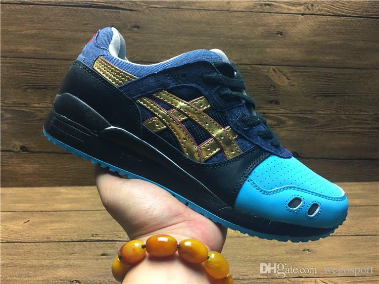 free shipping c8e97 741ea Asics Gel-Lyte III 25 Homage H54FK-6540 Men Running Shoes Best Quality  Women Shoes Athletic Designer Sneakers EUR36-44