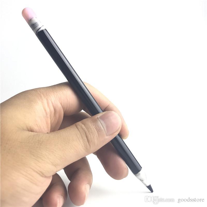 Lápis de vidro Vaporizador Pen Dabber Ferramentas Oil Wax Dab Ferramenta com 6 polegadas 8mm