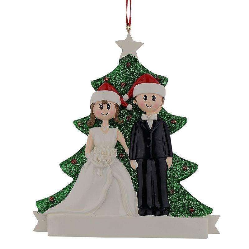 발렌타인 데이 선물 파티 장식 Maxora 커플 웨딩 수지 크리스마스 참여 장식품 개인은 선물 기념품