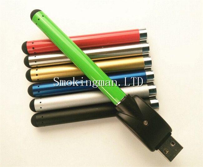 O pen vape e cigarette battery with USB Charger 510 thread battery for oil vaporizer tank cartridge vaporizer 280mah bud touch battery