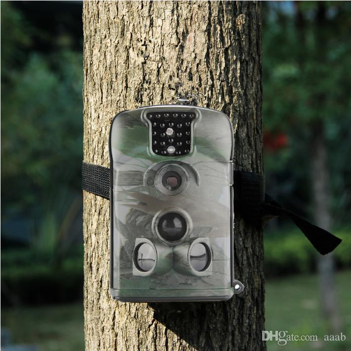 Waterproof Wildlife Hunting Camera 5210A 12MP HD Digital Infrared Scouting Trail Camera 940nm IR LED Video Recorder Portable