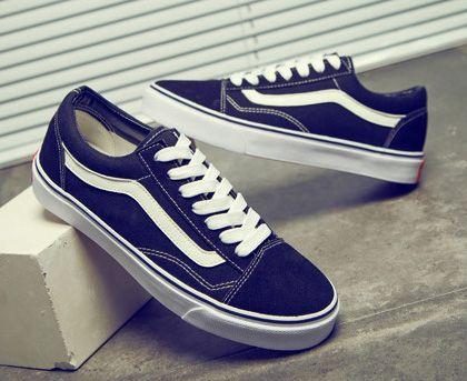 d04c36e767986b Acquista Classic Black White Old Skool Uomo Donna Casual Scarpe Basse  Sneakers Vans Skateboard Scarpe Outdoor Unisex Zapatillas Scarpe Da  Passeggio 35 45 A ...