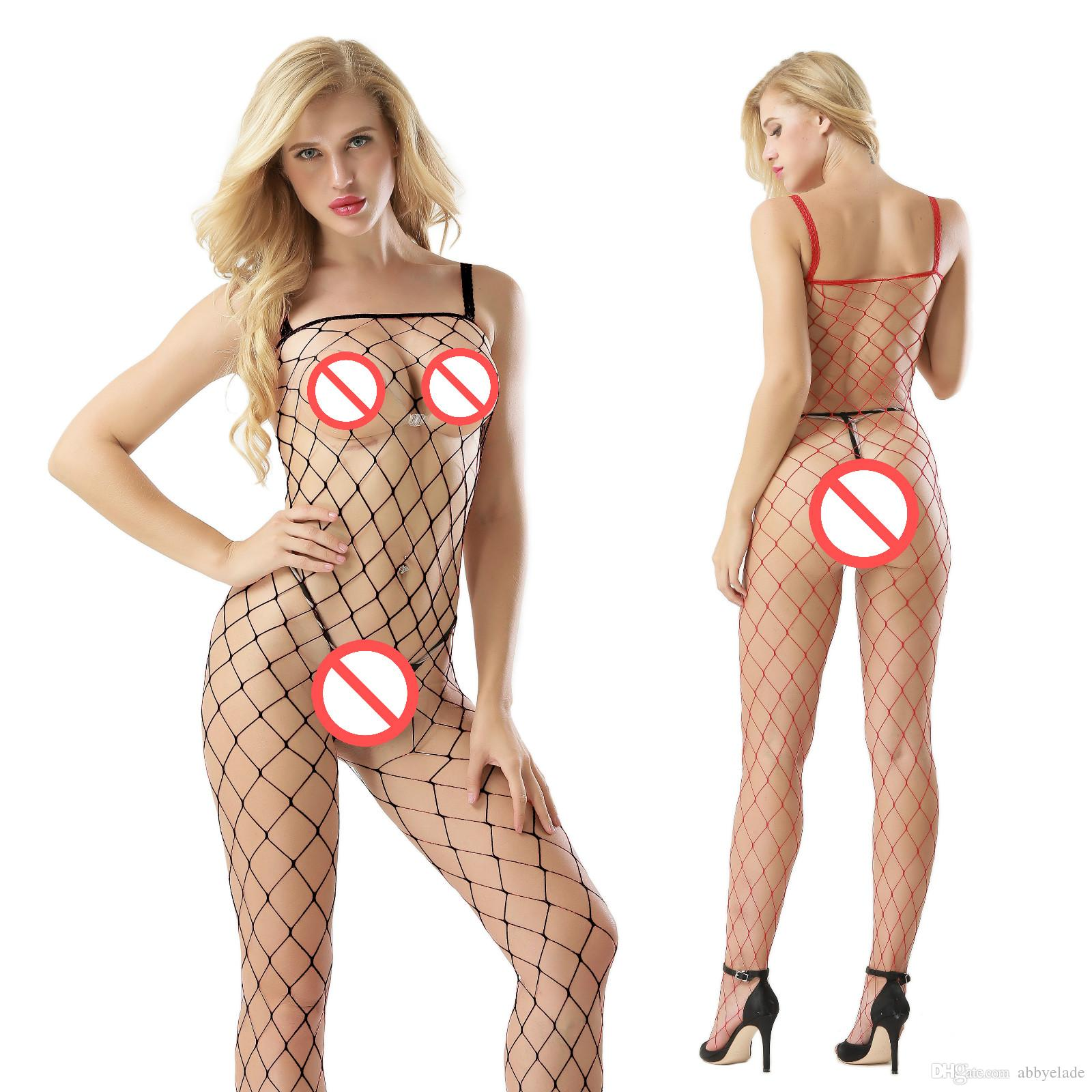 Sexy fishnet girls