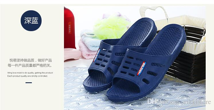 Marvelous Wholesale Home Slippers For Men And Women Home Slippers Summer Home Interior  Hotel Shoes Bathroom Shoes Couple Shoes Soft Plastic Sandals Desert Boots  Mens ...