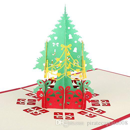 Christmas pop up cards tree merry christmas card new year greeting christmas pop up cards tree merry christmas card new year greeting gift card dhl free ship send cards and gifts online gift cards sent by email from negle Choice Image