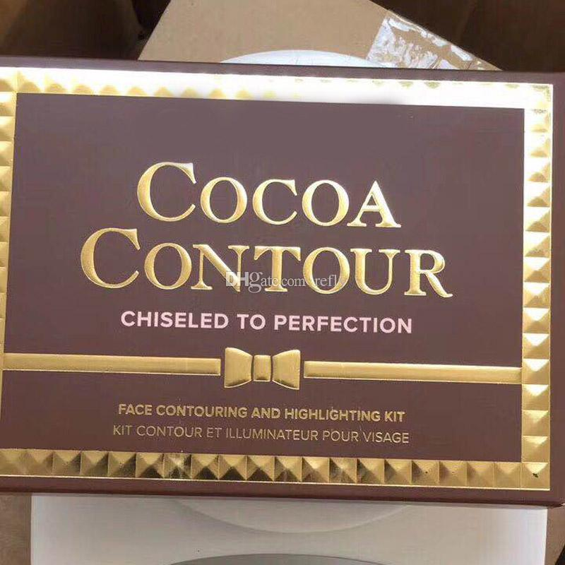Makeup Cocoa Contour Chiseled To Perfection Highlighters Face Contouring And Highlighting Kit Free DHL Shipping