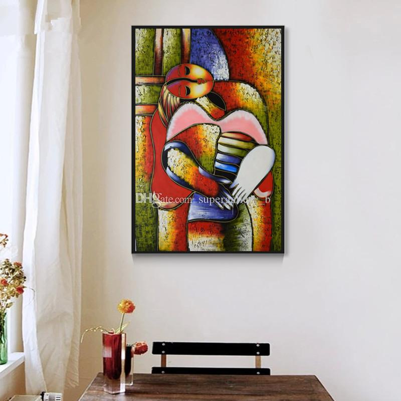 2018 Famous Dream By Picasso,Pure Handpainted Modern Abstract Art ...