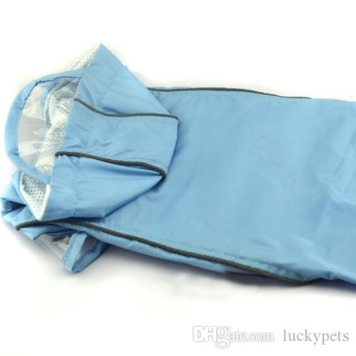 Teddy Pets Rain Coat For Small Dogs Pet Jacket Casual Waterproof Dog Clothes With 160909