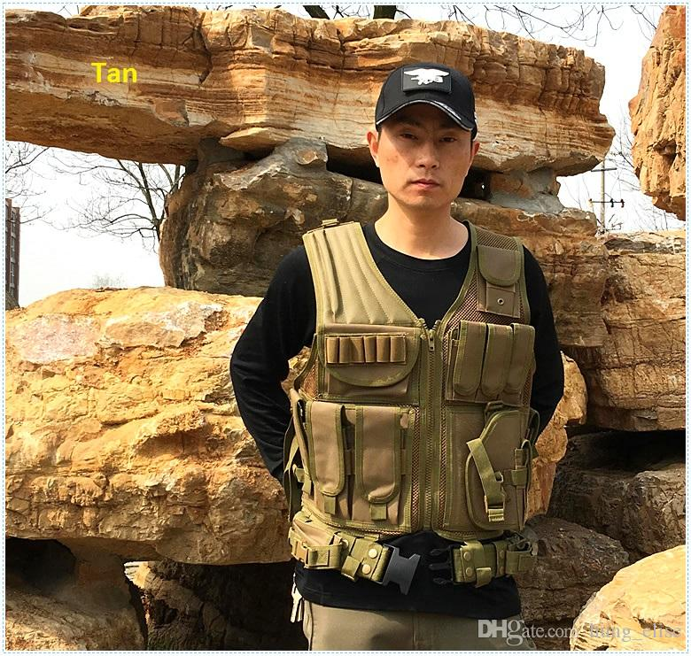 New Black Army CS Tactical Vest Paintball protettivo Outdoor Training combattimento mimetico molle Tactical Vest i
