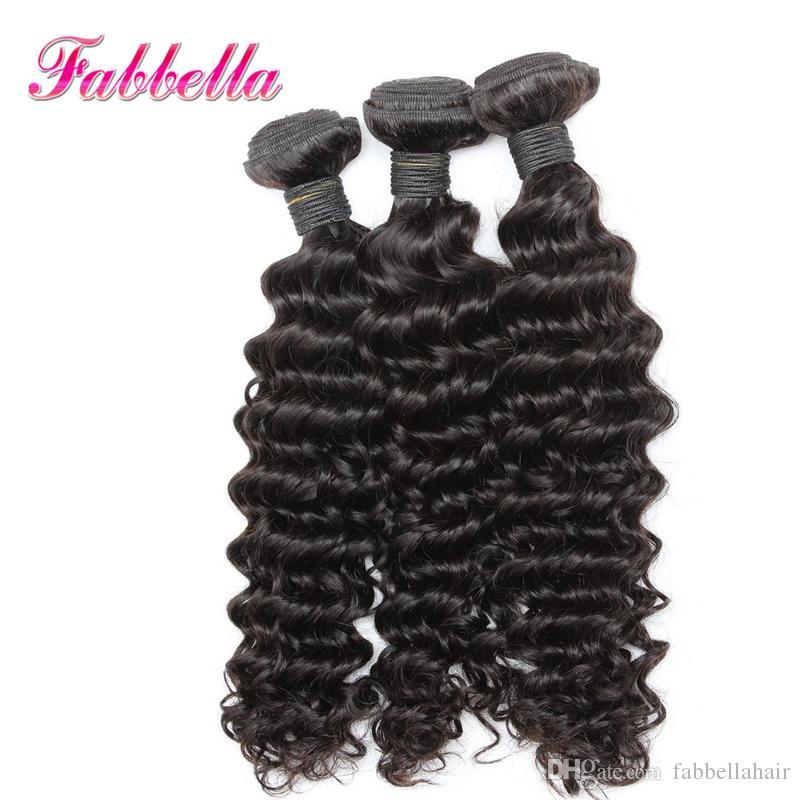 Paquetes de armadura de cabello no procesados en Malasia Grado 9A Extensiones de cabello humano Texturas rizadas No derramar No enredo Dropshipping OK