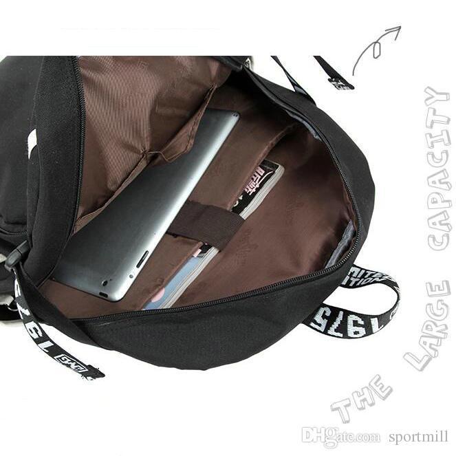 Máscara mochila Negro Roman Sionis mochila escolar Súper héroe mochila de impresión Mochila informal para computadora Mochila para la puerta Mochila deportiva Paquete de día deportivo