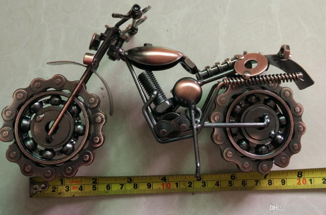 2016 hot sale motorcycle davidson models oversized iron metal crafts creative gift ideas home decoration crafts