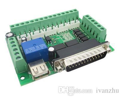 Tablero del desbloqueo del CNC de 5 ejes originales con el acoplador óptico para la venta superior del conductor del motor de pasos MACH3