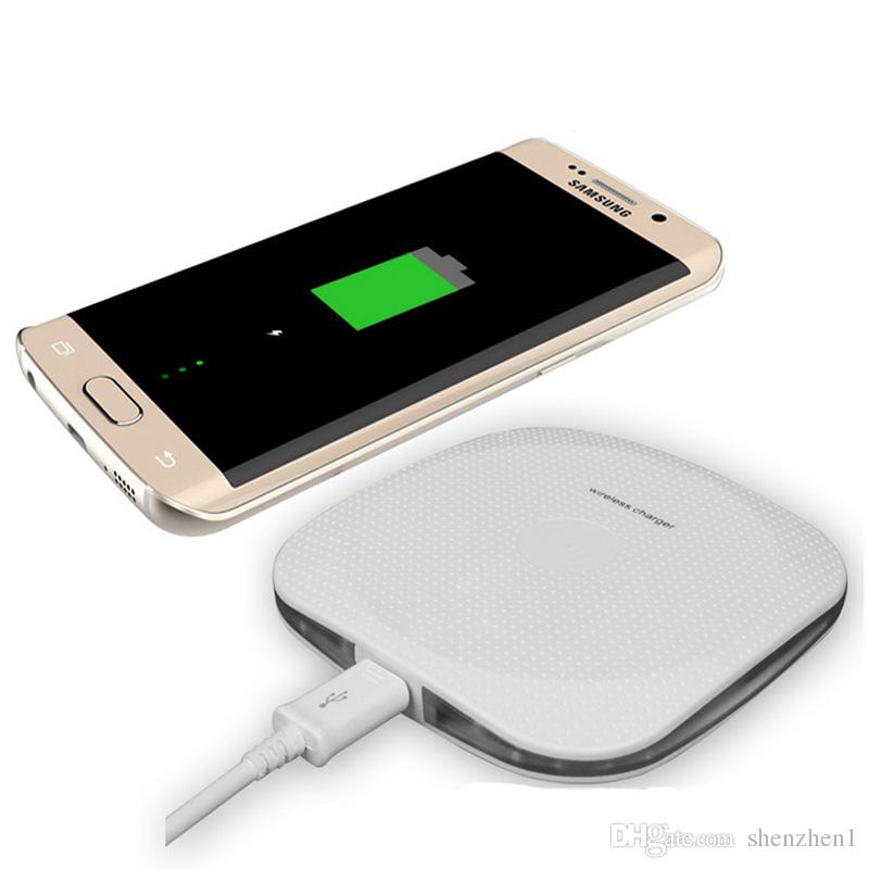 Q15 Wireless Charger Charging Pad for Samsung Galaxy s8 note 8 s7 edge  Iphone X iphone 8 plus 7 free shipping OTH710