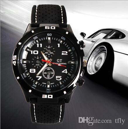 fe0356289449 Compre 2017 Moda GT Reloj Grand Touring F1 Hombres Reloj Deportivo  Luxurysport Hombre Relojes Militares Correa De Silicona Reloj De Pulsera De  Cuarzo ...