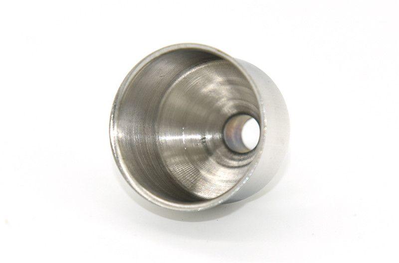 Stainless Steel Filler Funnel for All Kinds of Hip Flasks Whiskey Wine Pots Funnel For Most Hip Flasks Flask Wine Pot Wide Mouth 240407