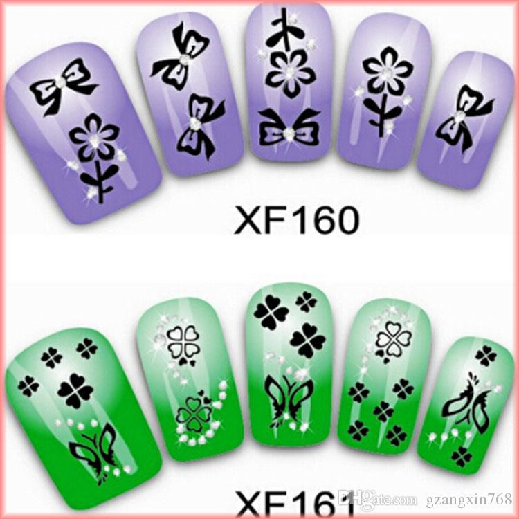 Nail Art Supplies Store: New Arrival Silver 3D Nail Art Stickers Decals Nail Art
