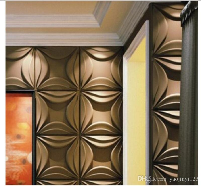 Living Room 3d Decoration Interior Decor Wall Panels With Star ...